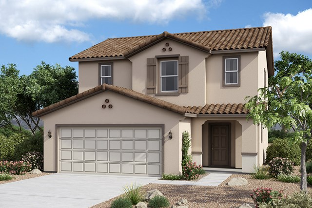 New Homes in Maricopa, AZ - Plan 1431 Elevation A