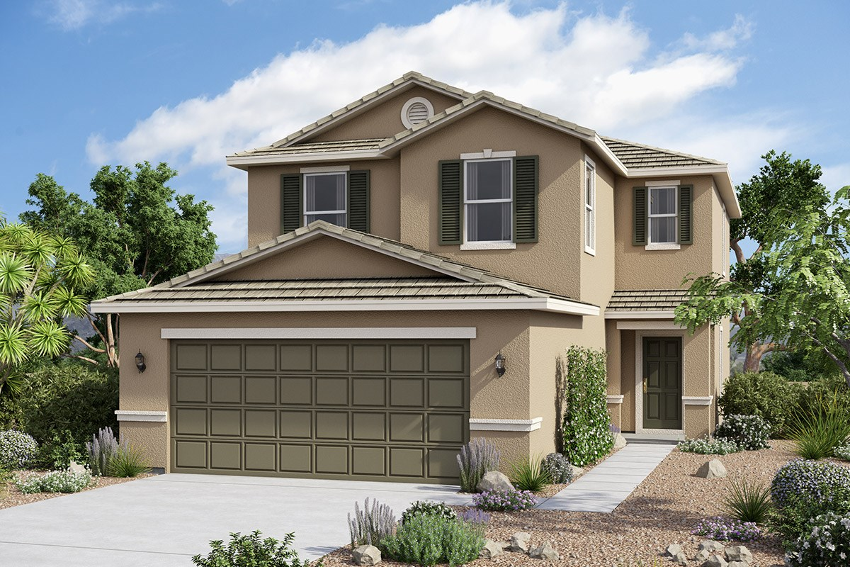 Juniper at desert passage a new home community by kb home for Juniper house
