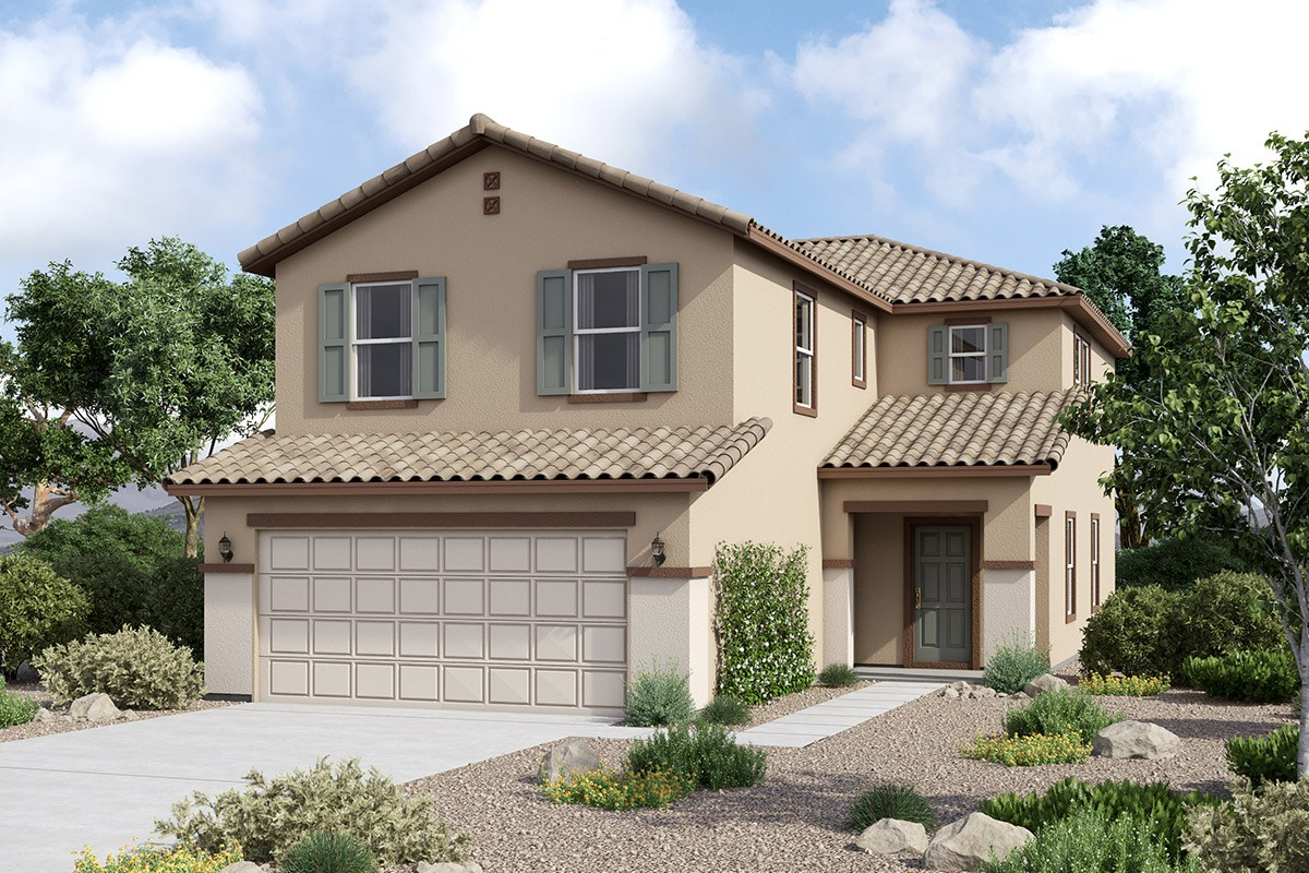 New Homes in Maricopa, AZ - Juniper at Desert Passage Plan 2151 Elevation C