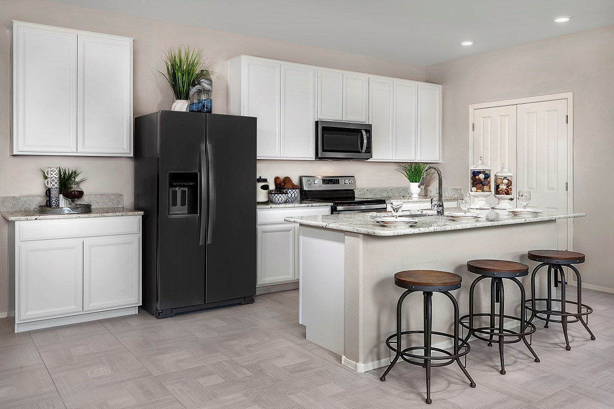 New Homes in Goodyear, AZ - La Ventilla III Plan 1551 Kitchen