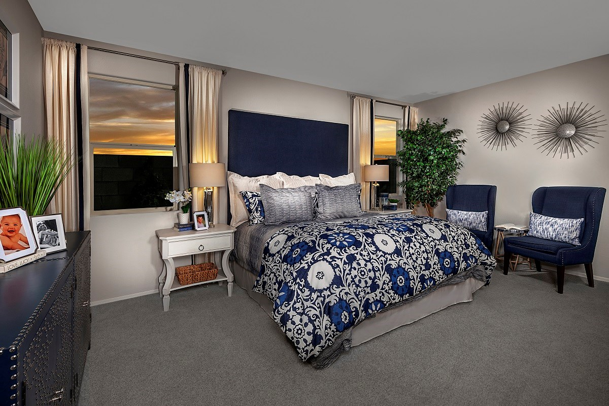 New Homes in Goodyear, AZ - La Ventilla III Plan 1551 Master Bedroom