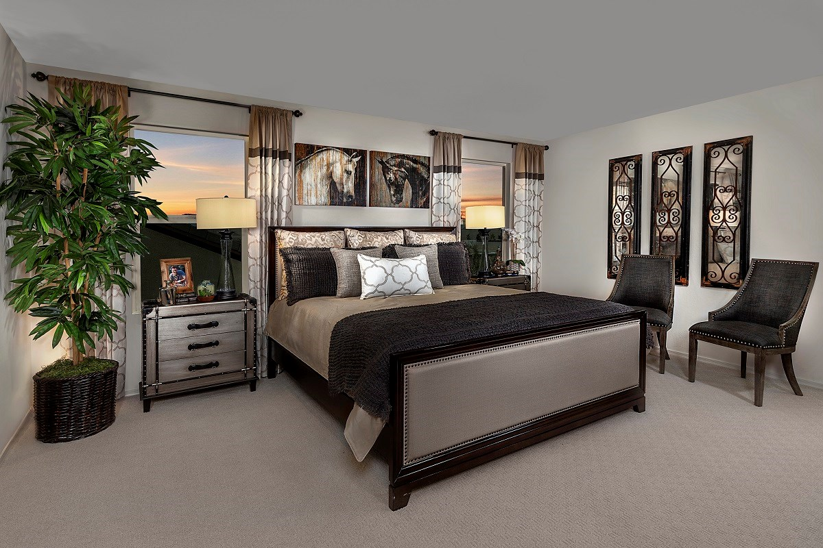 New Homes in Goodyear, AZ - La Ventilla III Plan 2270 Master Bedroom