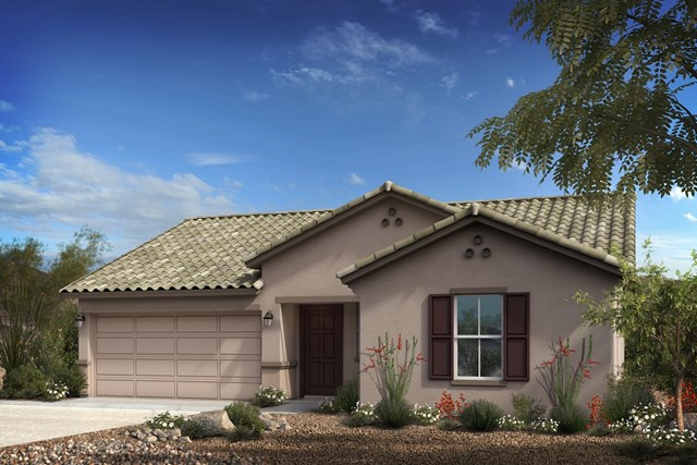 New Homes in Goodyear, AZ - Plan 1551 Elevation A