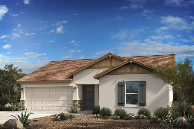 New Homes in Goodyear, AZ - Plan 1551 Elevation D
