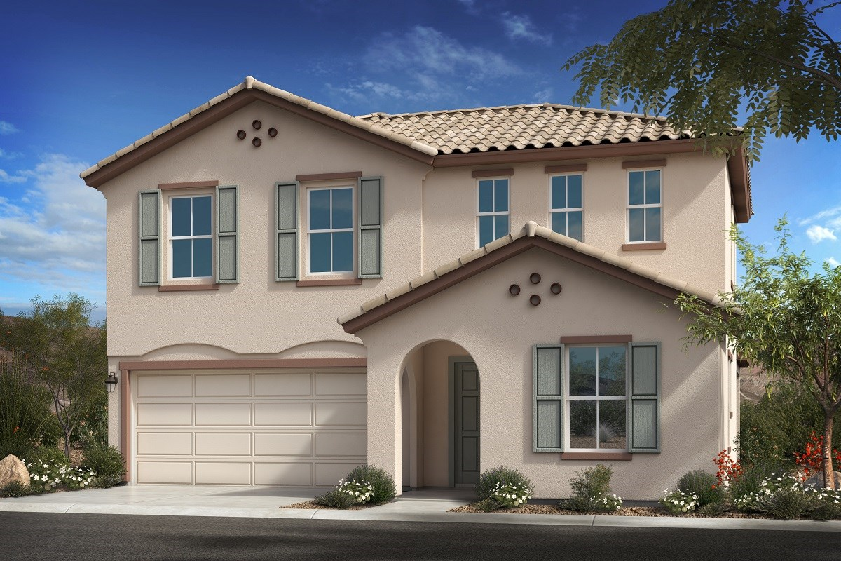 New Homes in Goodyear, AZ - La Ventilla III Plan 2561 Elevation A