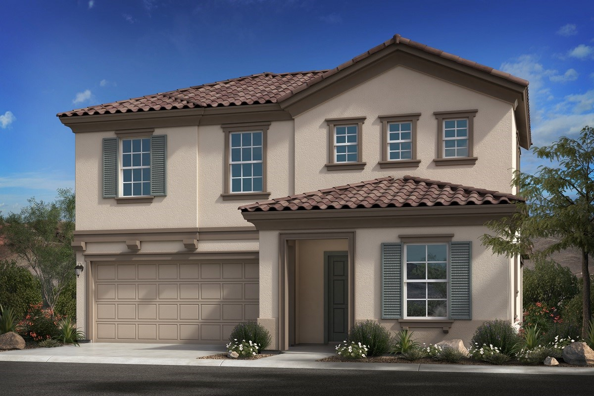 New Homes in Goodyear, AZ - La Ventilla III Plan 2561 Elevation B