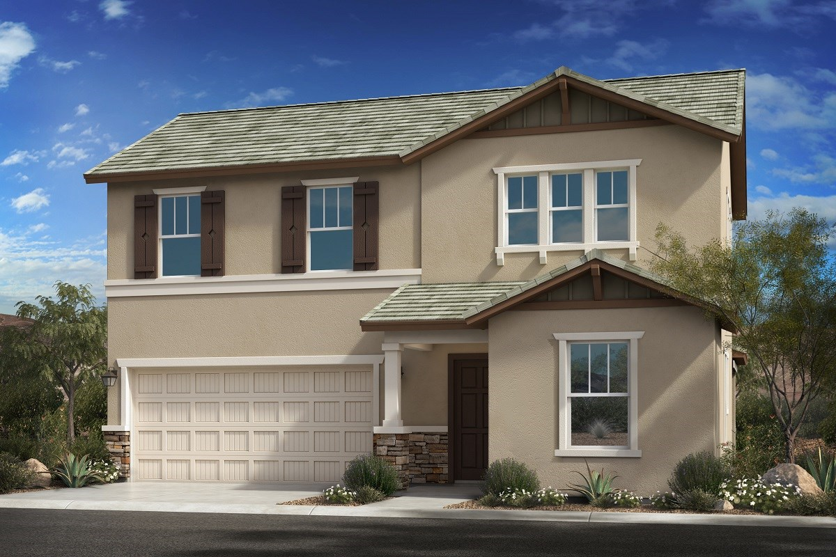 New Homes in Goodyear, AZ - La Ventilla III Plan 2561 Elevation D