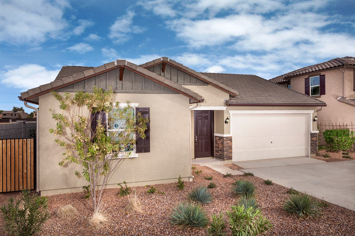 New Homes in Goodyear, AZ - La Ventilla III Plan 1551 Exterior