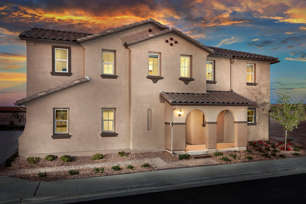 New Homes in Goodyear, AZ - La Ventilla III Plan 2270 Exterior