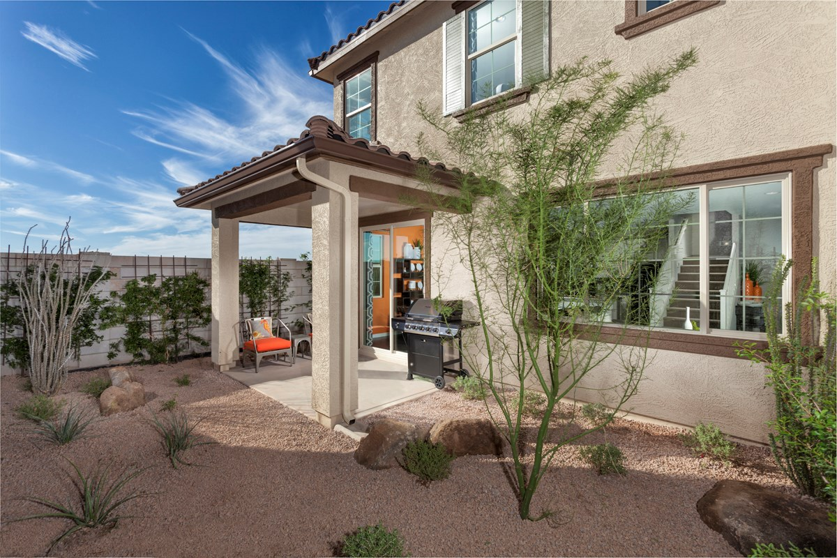 New Homes in Goodyear, AZ - La Ventilla 1932 Patio