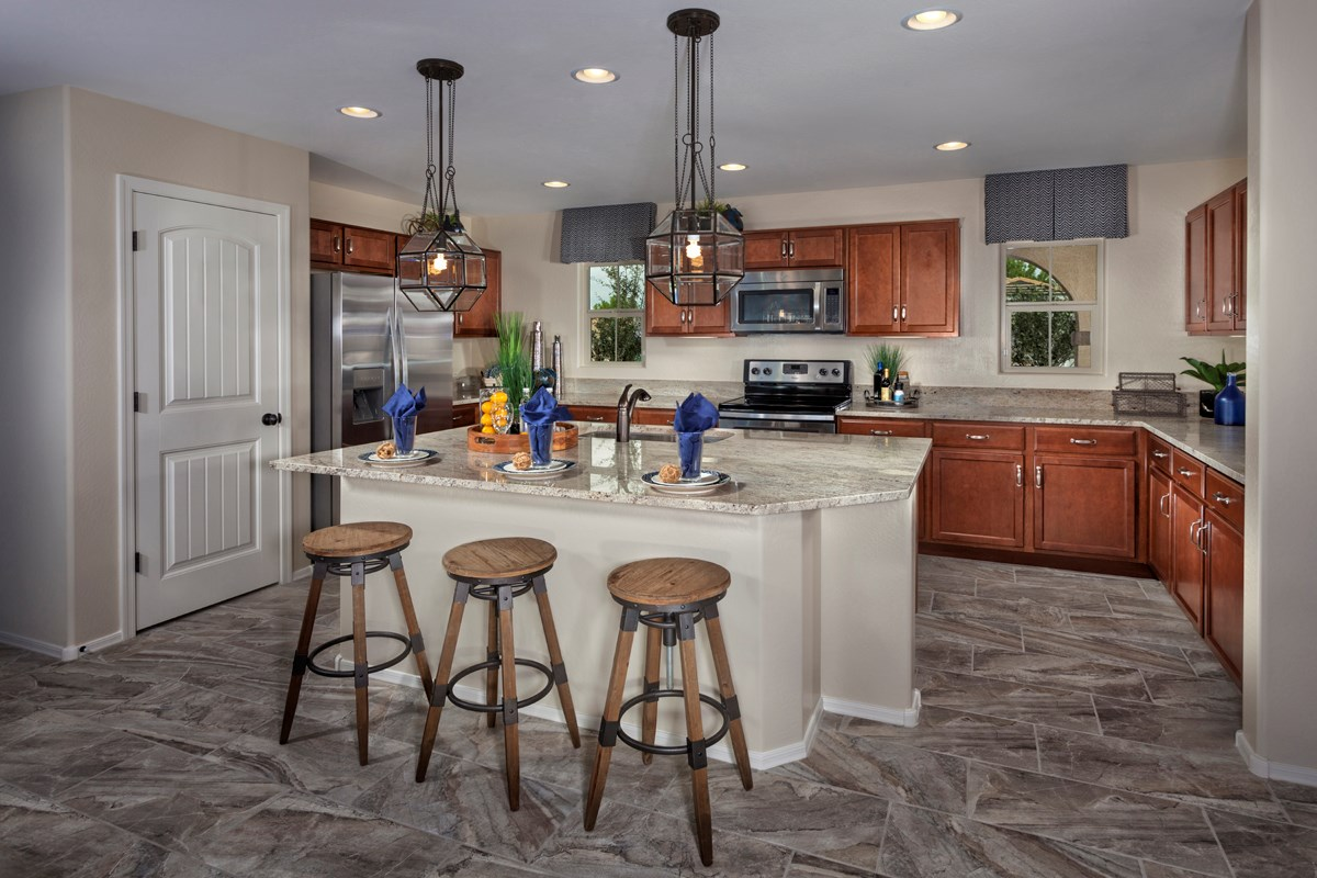 New Homes in Goodyear, AZ - La Ventilla 2270 Kitchen