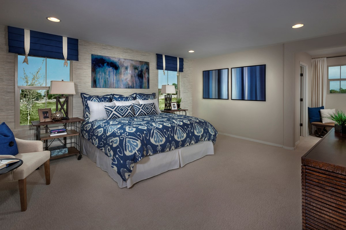 New Homes in Goodyear, AZ - La Ventilla 2270 Master Bedroom