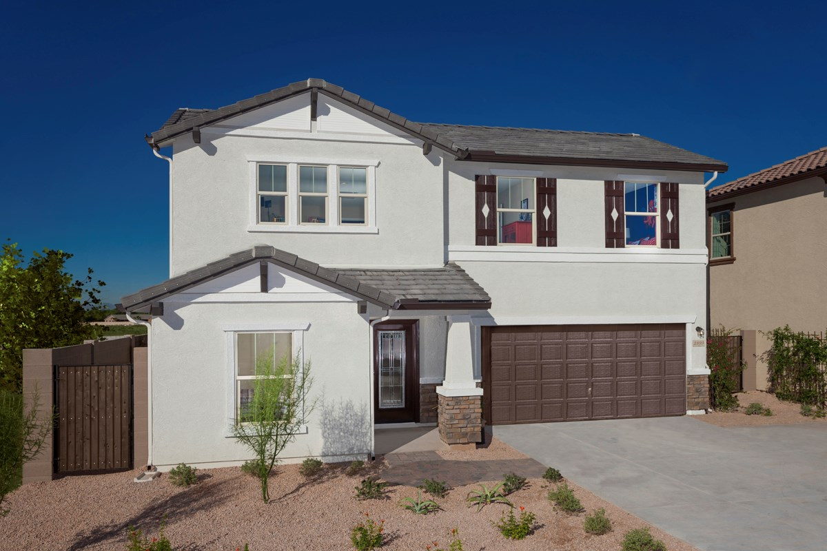 New Homes in Goodyear, AZ - La Ventilla 2561 Exterior