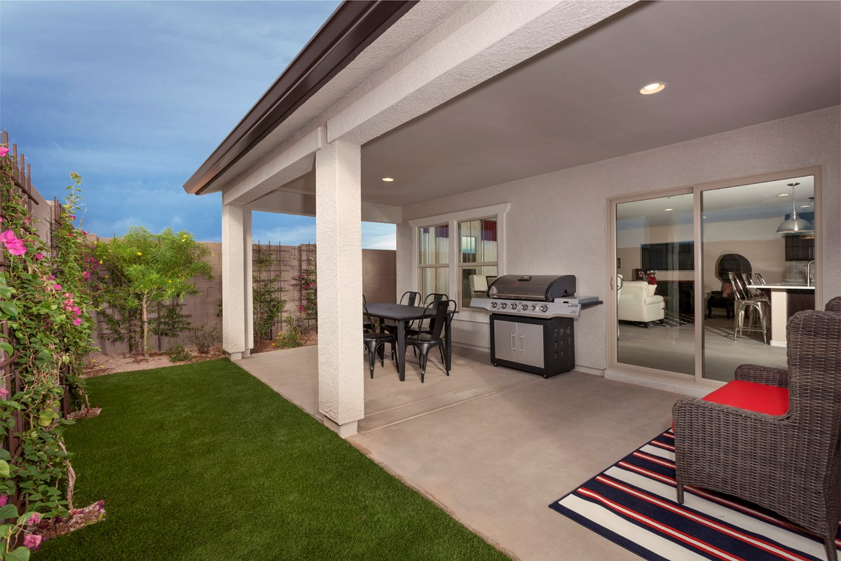 New Homes in Goodyear, AZ - La Ventilla 2561 Patio