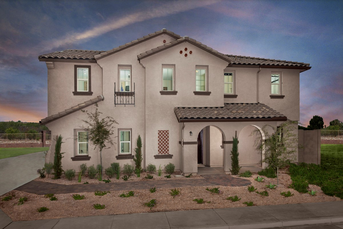 New Homes in Goodyear, AZ - La Ventilla Villas Plan 2270 Exterior