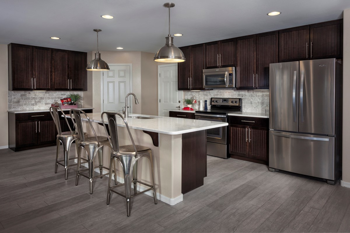 New Homes In Goodyear Az La Ventilla Villas Plan 2537 Kitchen