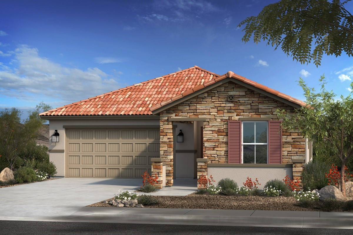 New Homes in Gilbert, AZ - Layton Lakes Plan 1700 Elevation B