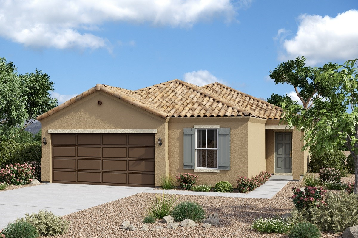 New Homes in Glendale, AZ - Marbella Ranch Plan 1908 Elevation A