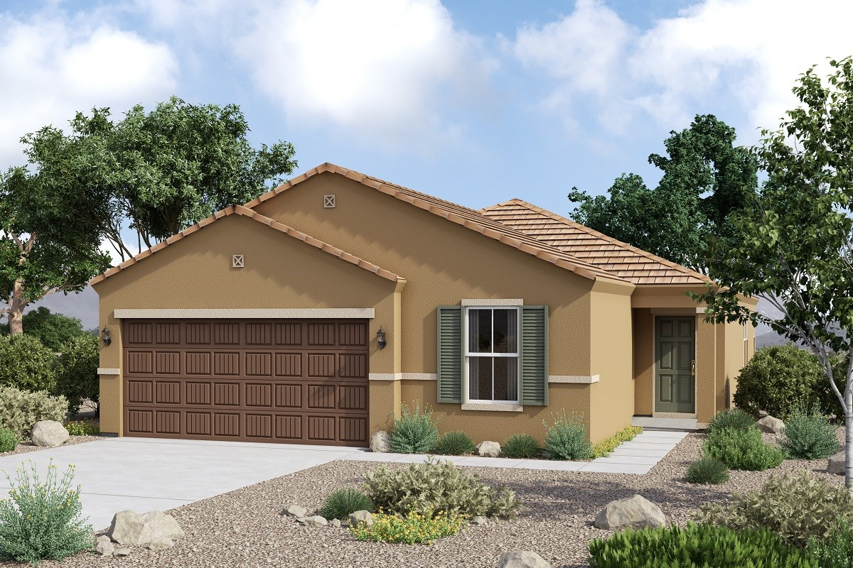 New Homes in Glendale, AZ - Marbella Ranch Plan 1908 Elevation C