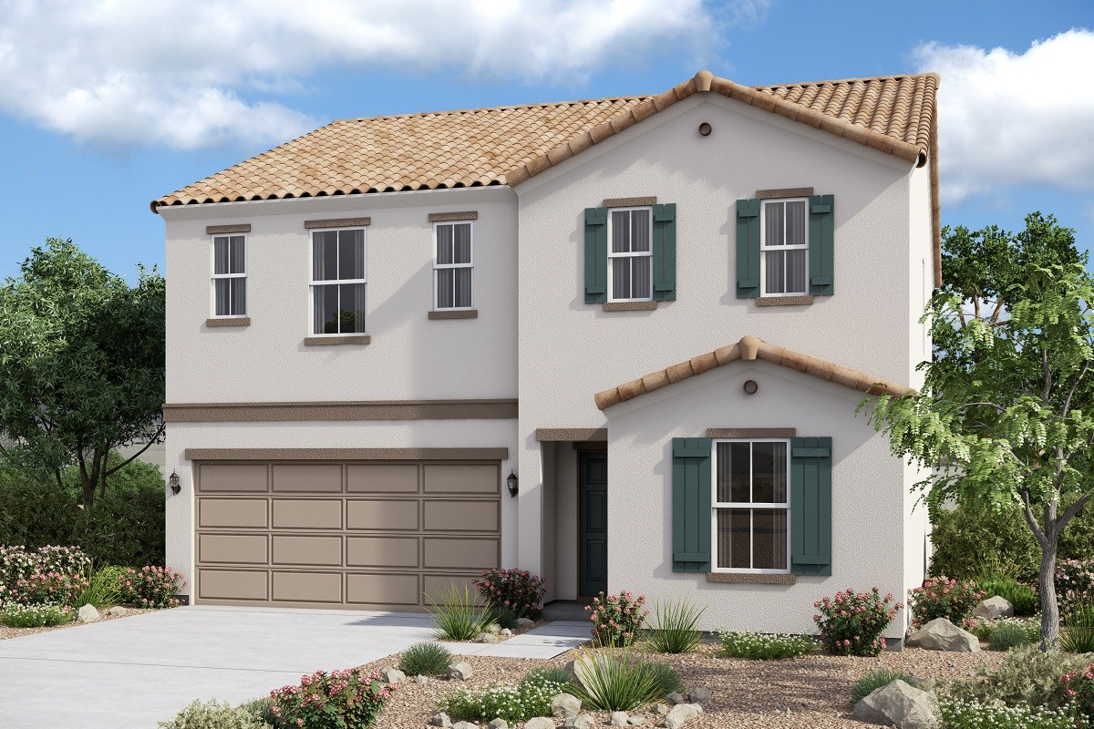 New Homes in Glendale, AZ - Marbella Ranch Plan 2419 Elevation A