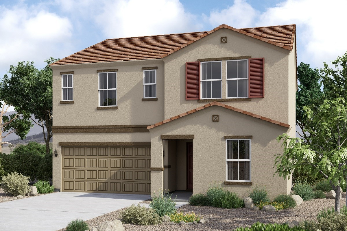 New Homes in Glendale, AZ - Marbella Ranch Plan 2419 Elevation C