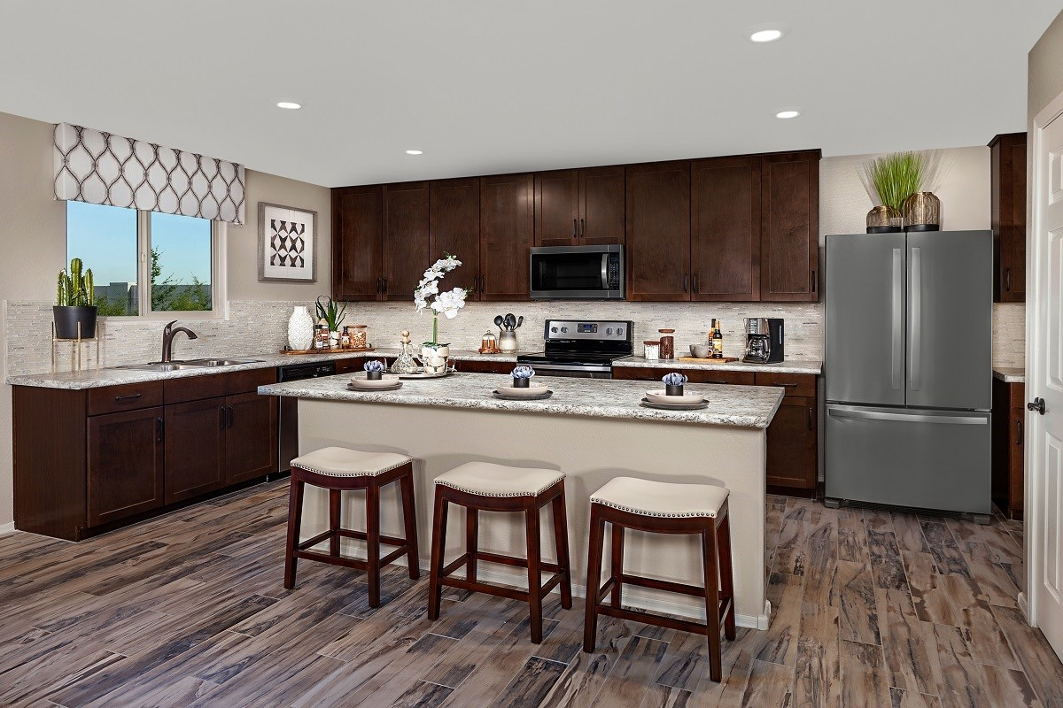New Homes in Glendale, AZ - Marbella Ranch Plan 2419 Kitchen