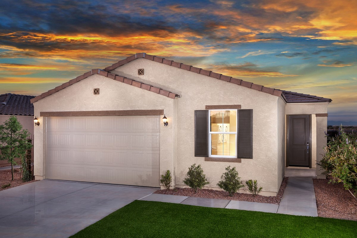 New Homes in Glendale, AZ - Marbella Ranch Plan 1908 Exterior