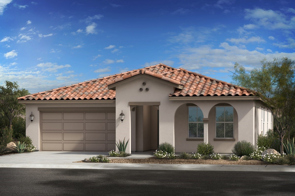 New Homes in Glendale, AZ - Northern Ridge Estates Plan 2014 Elevation A