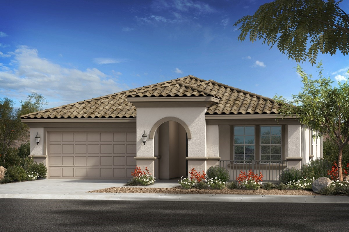 New Homes in Glendale, AZ - Northern Ridge Estates Plan 2014 Elevation B