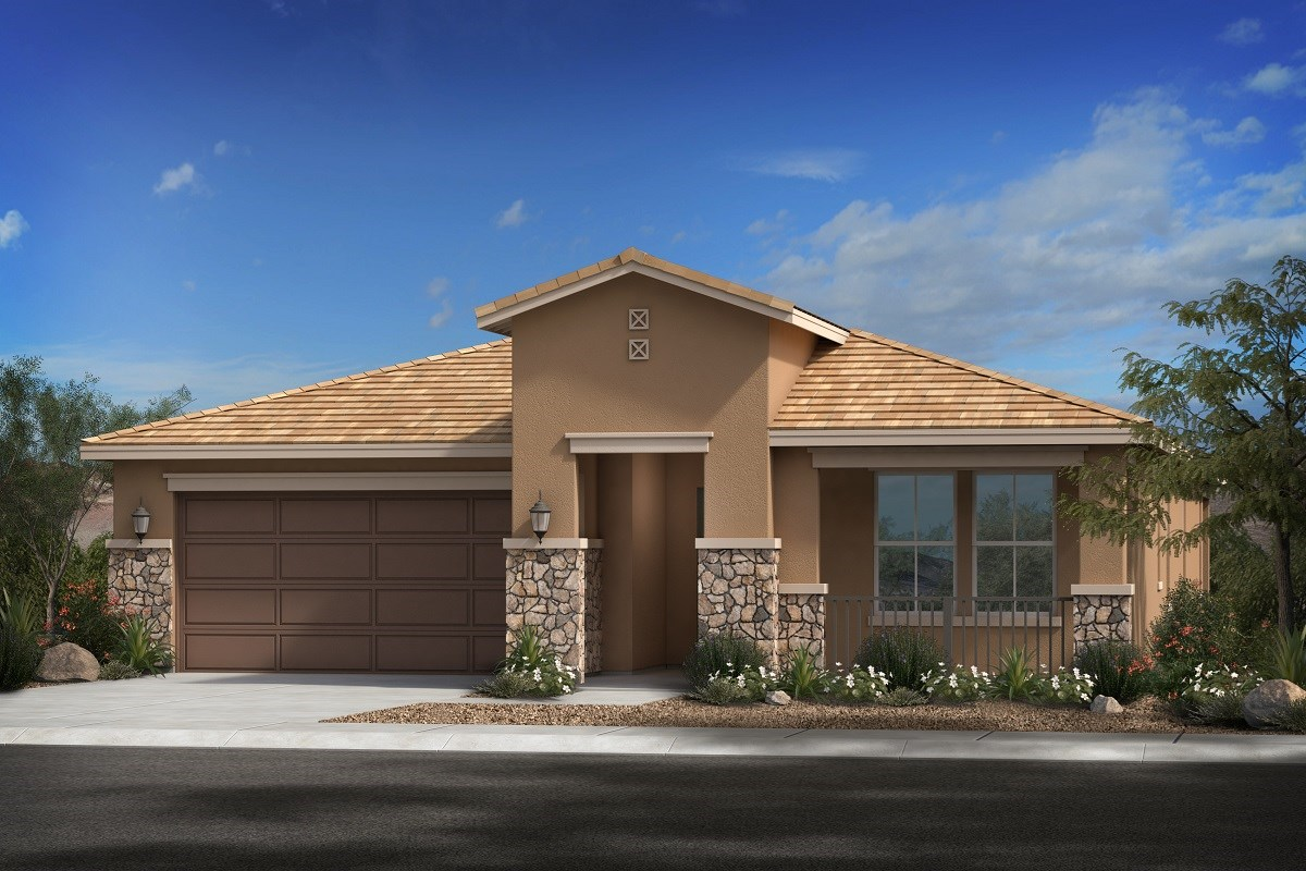 New Homes in Glendale, AZ - Northern Ridge Estates Plan 2014 Elevation C