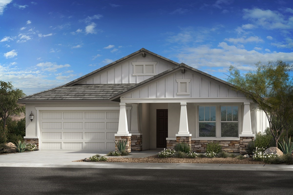 New Homes in Glendale, AZ - Northern Ridge Estates Plan 2014 Elevation D