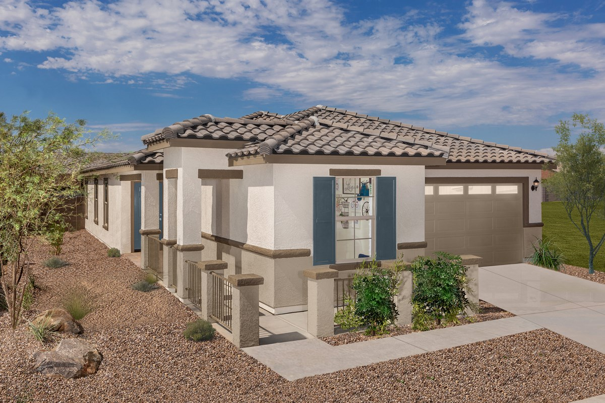 New Homes in Phoenix, AZ - Park Meadows II Plan 1841 Exterior