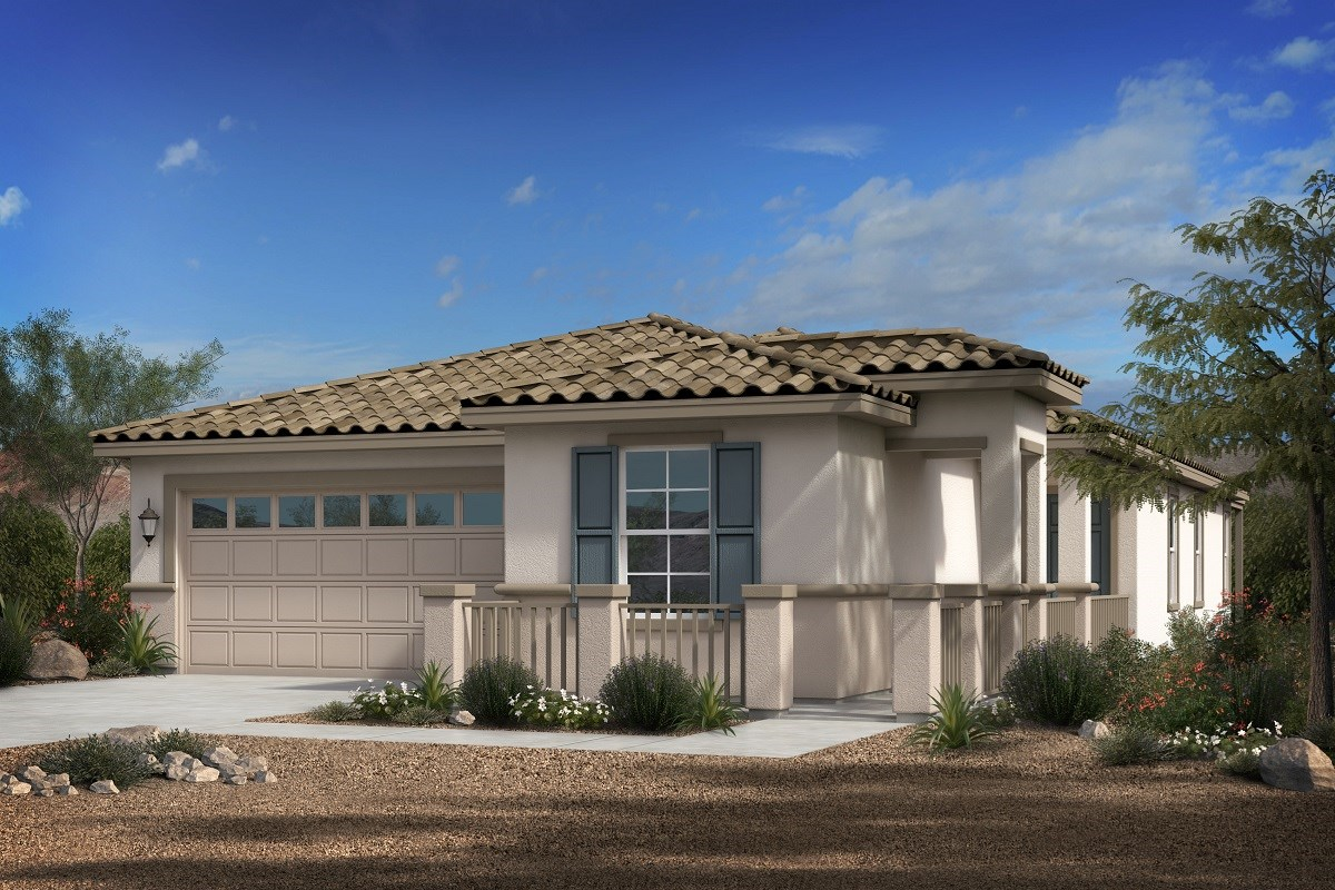 New Homes in Phoenix, AZ - Park Meadows II Plan 1841 Elevation B