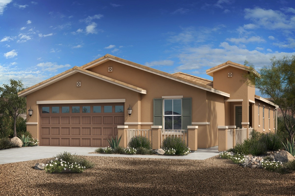 New Homes in Phoenix, AZ - Park Meadows II Plan 1953 Elevation C