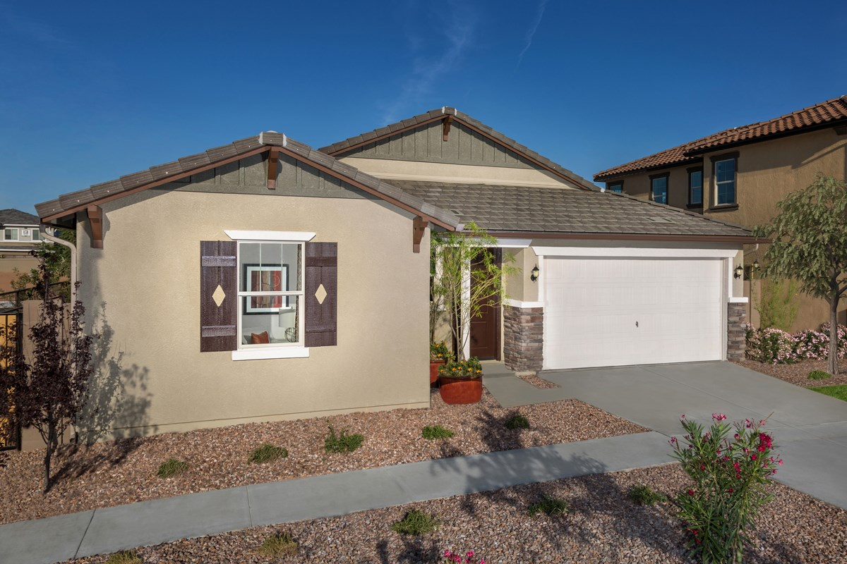 New Homes in Chandler, AZ - The Villas at Paseo Place Plan 1483