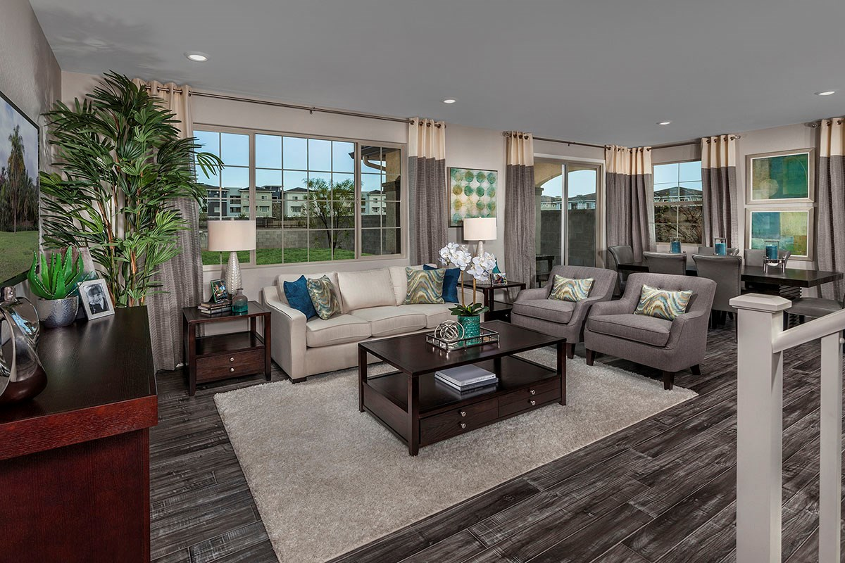 New Homes in Chandler, AZ - The Villas at Paseo Place Plan 1932 Great Room