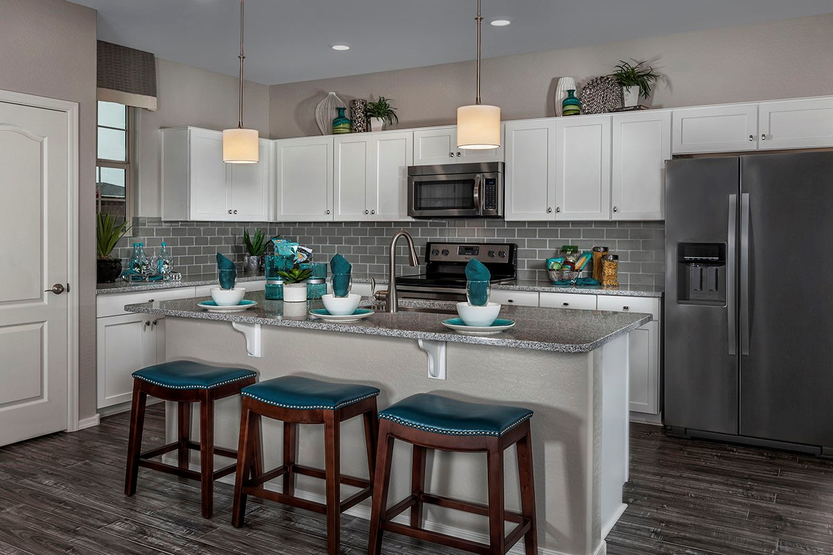 New Homes in Chandler, AZ - The Villas at Paseo Place Plan 1932 Kitchen