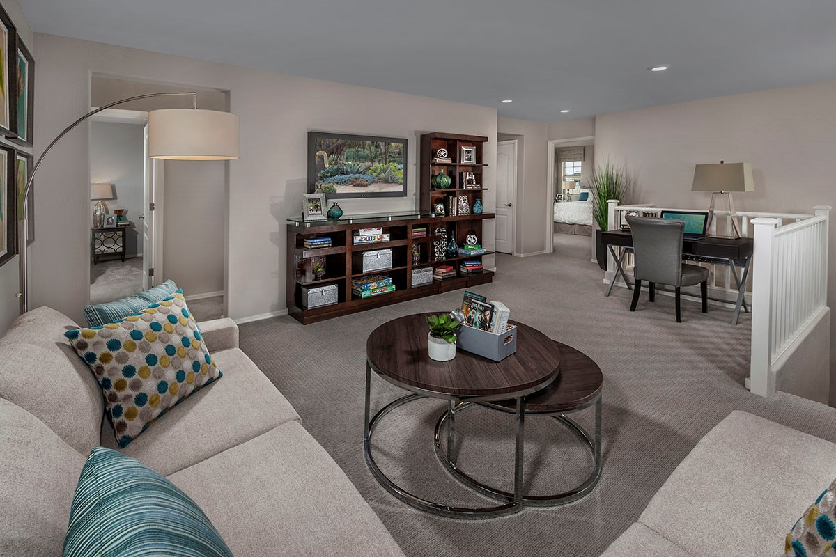 New Homes in Chandler, AZ - The Villas at Paseo Place Plan 1932 Loft