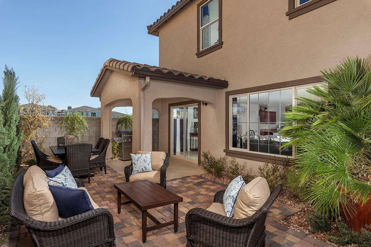 New Homes in Chandler, AZ - The Villas at Paseo Place Plan 2270 Patio