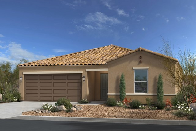 New Homes in Gold Canyon, AZ - Plan 1476 Elevation A