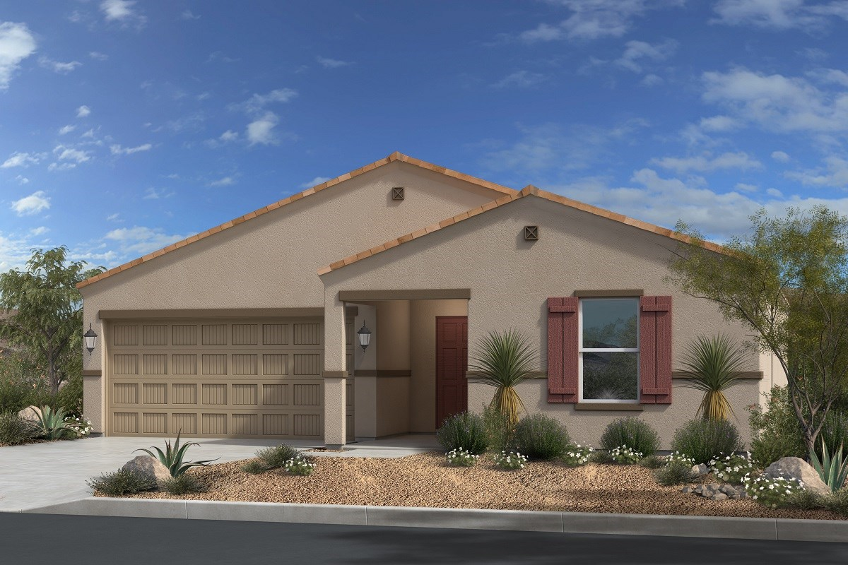 New Homes in Gold Canyon, AZ - Peralta Canyon Plan 1476 Elevation C