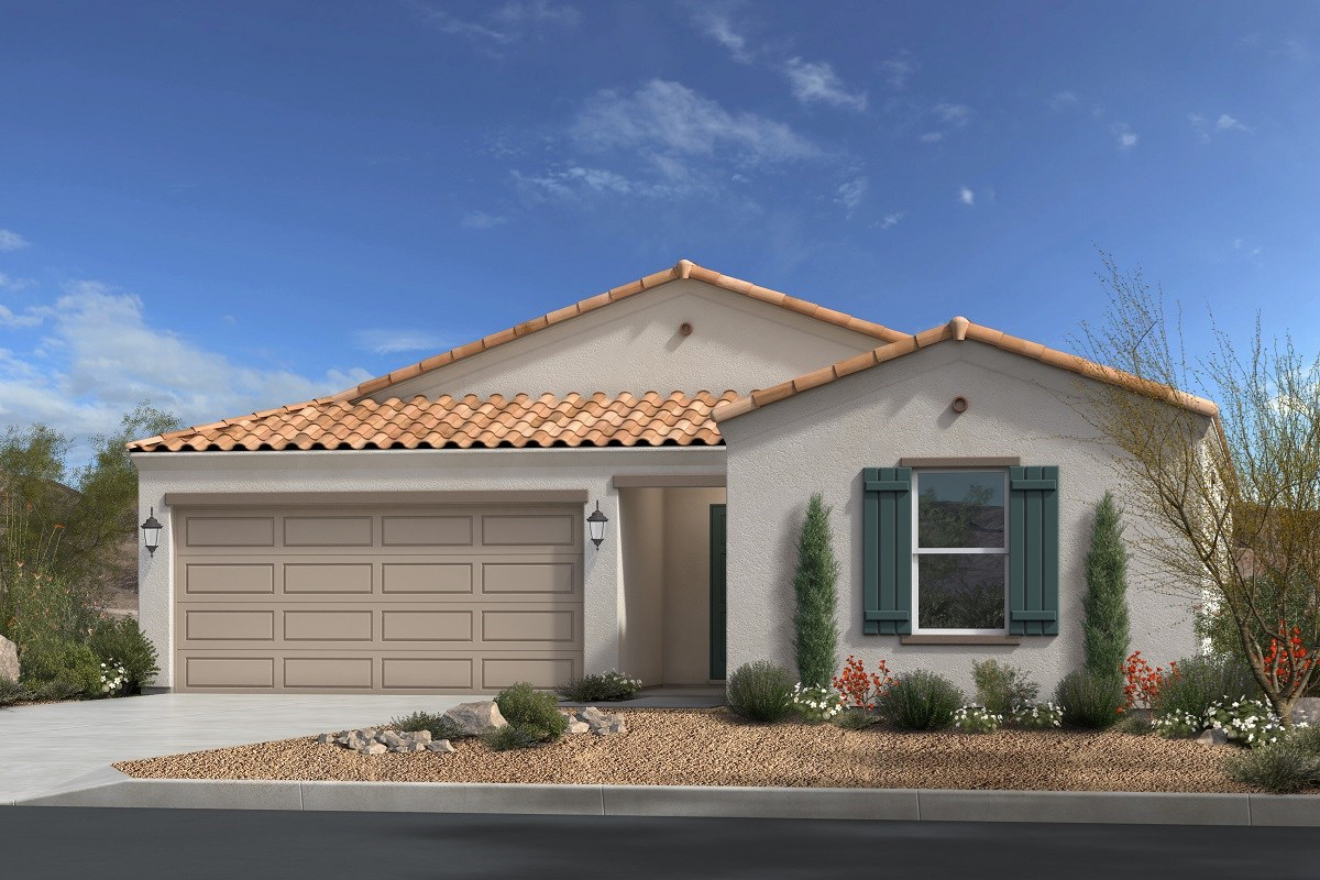New Homes in Gold Canyon, AZ - Peralta Canyon Plan 1790 Elevation A
