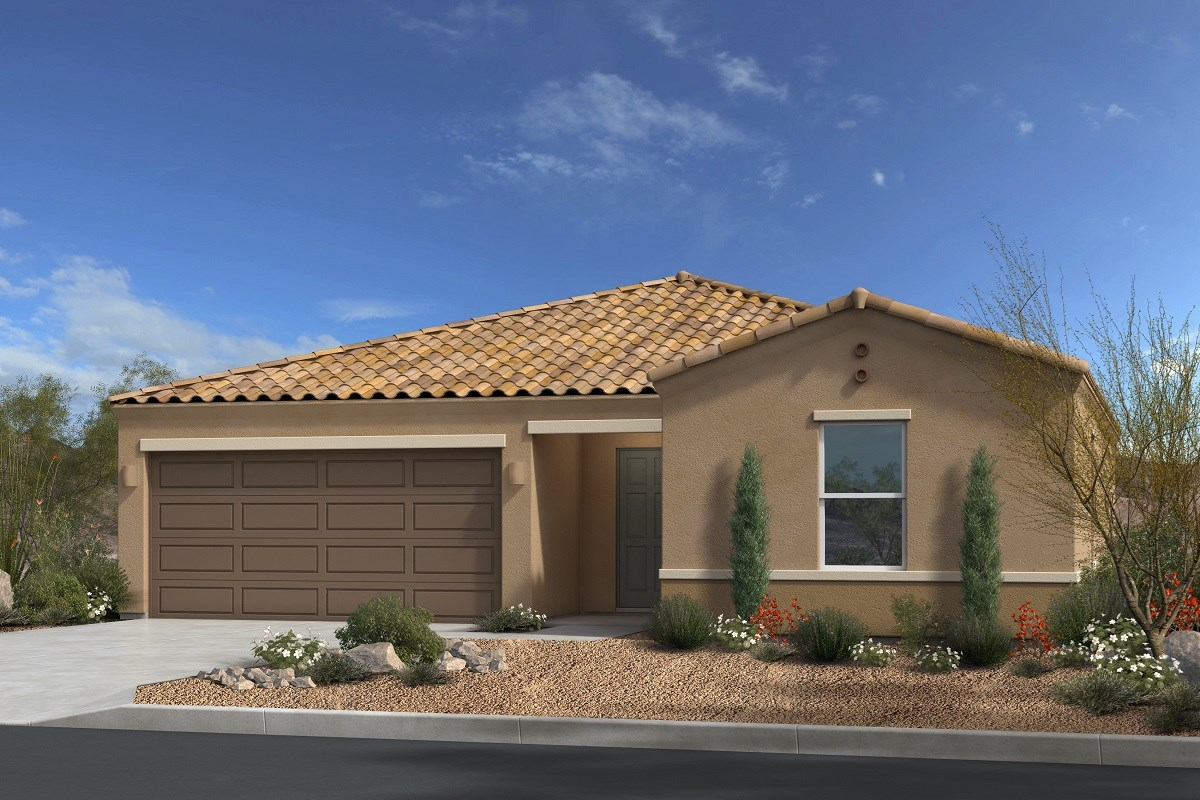 New Homes in Gold Canyon, AZ - Peralta Canyon Plan 1476 Elevation A