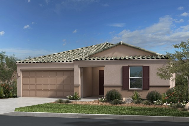 New Homes in Gold Canyon, AZ - Plan 1638 Elevation B