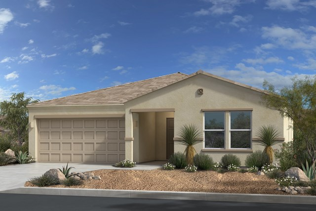 New Homes in Gold Canyon, AZ - Plan 1638 Elevation C