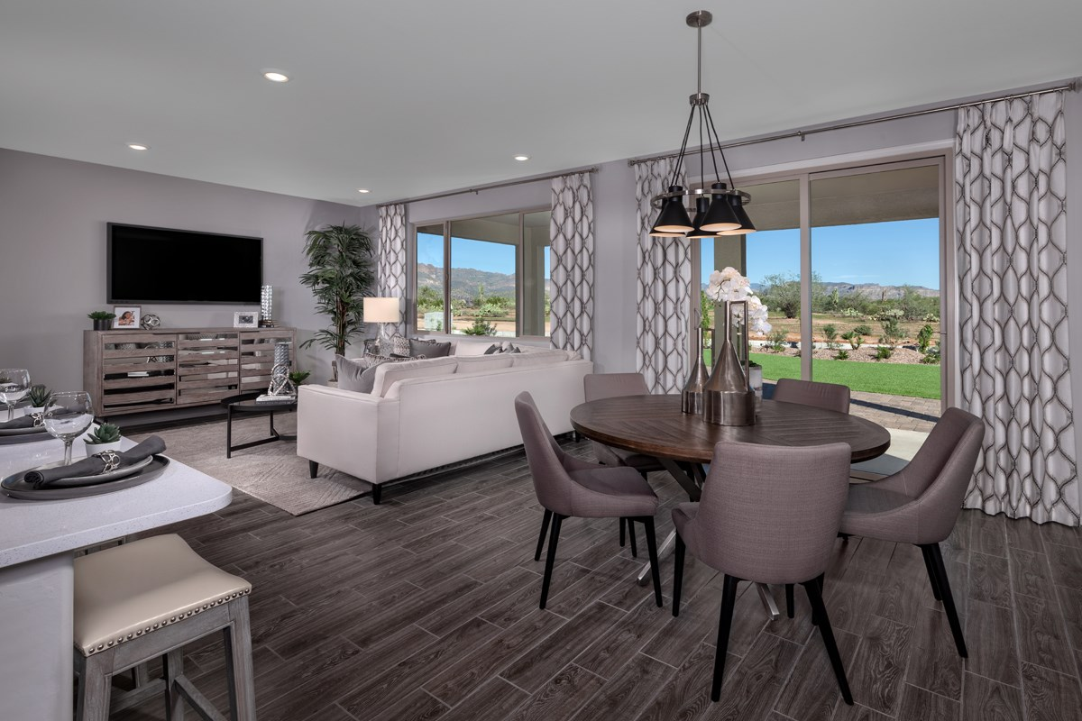 New Homes in Gold Canyon, AZ - Peralta Canyon Plan 1638 Great Room
