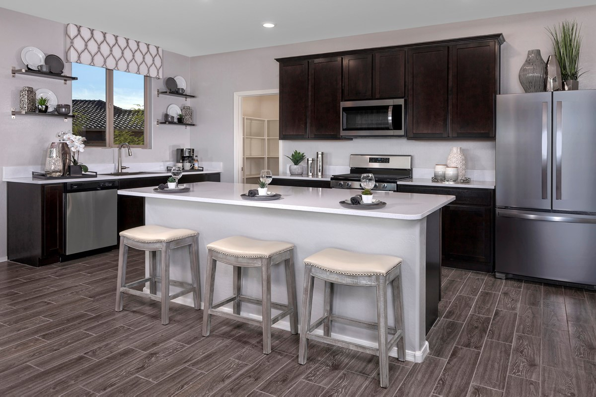 New Homes in Gold Canyon, AZ - Peralta Canyon Plan 1638 Kitchen