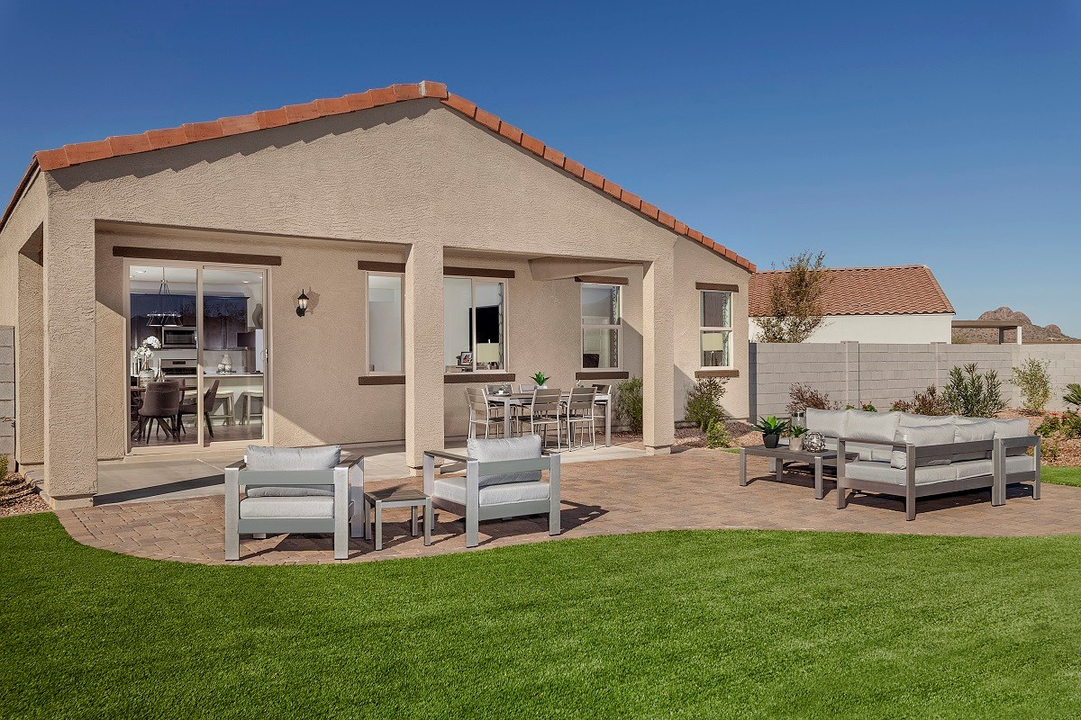 New Homes in Gold Canyon, AZ - Peralta Canyon Plan 1638 Patio
