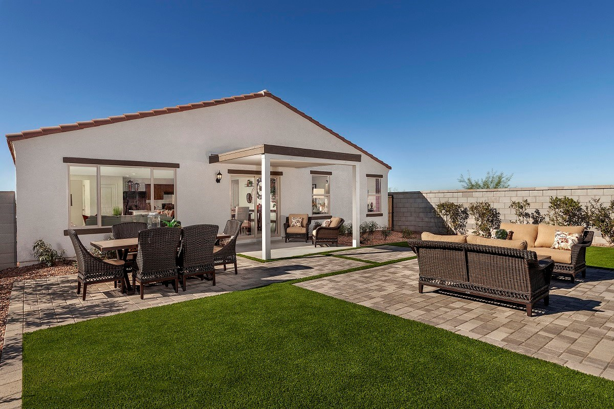 New Homes in Gold Canyon, AZ - Peralta Canyon Plan 1994 Patio