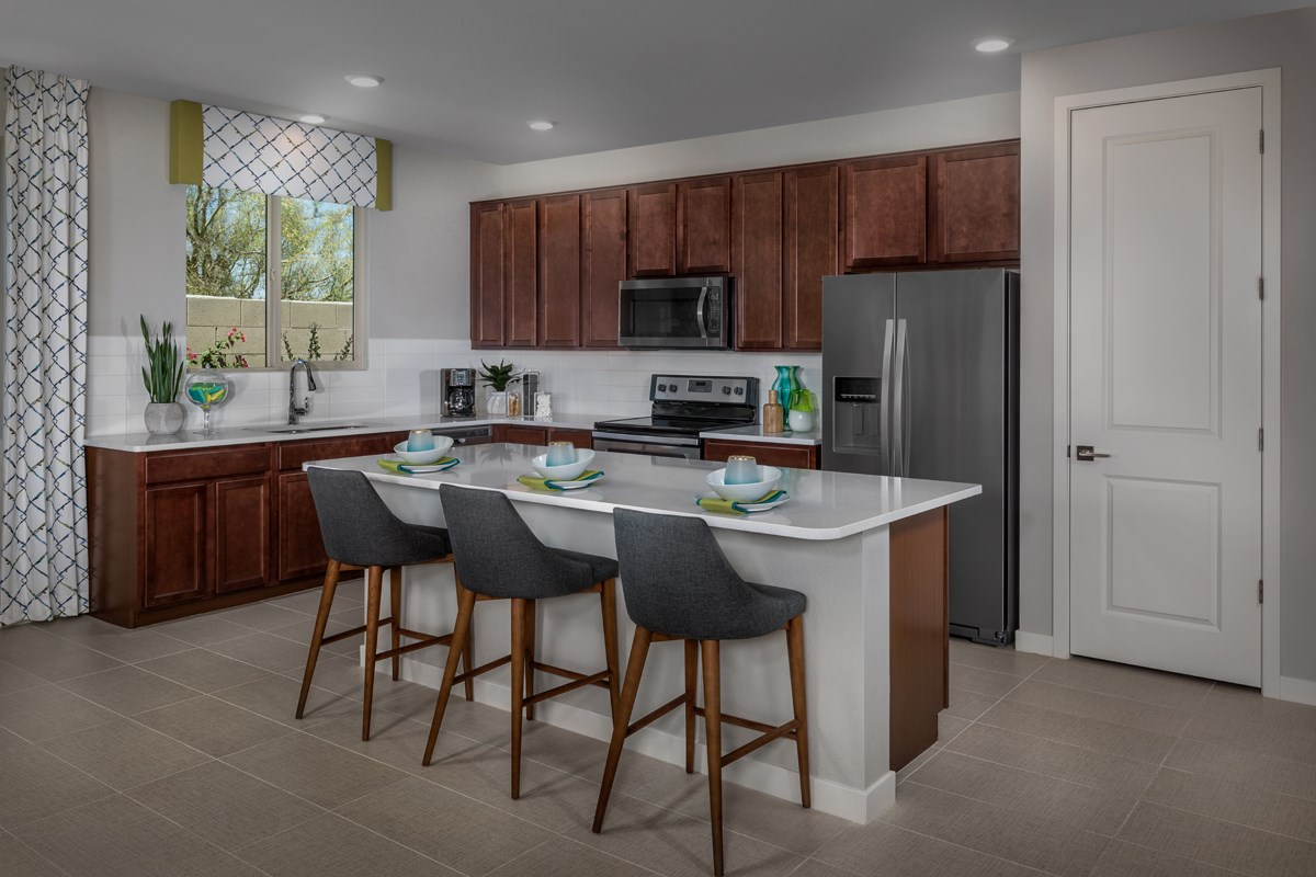 New Homes in Phoenix, AZ - The Villas at Rancho Paloma Plan 1527 Kitchen